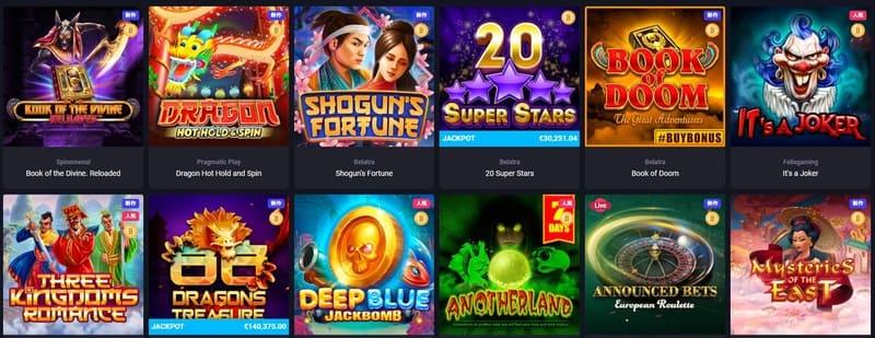 woo casino ゲーム